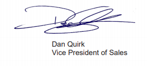 Dan Signature Covid