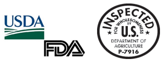 FDA and USDA inspected